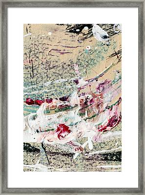 Abstract Original Painting Number Eight Framed Print