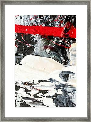 Abstract Original Painting Number Three Framed Print