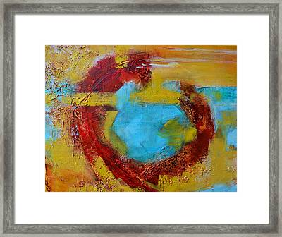 Abstract Painting Elements 1 Framed Print by Patricia Awapara