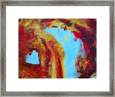 Abstract Painting Elements 3 Framed Print by Patricia Awapara