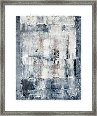 Abstract Painting No. 1 Framed Print by Julie Niemela