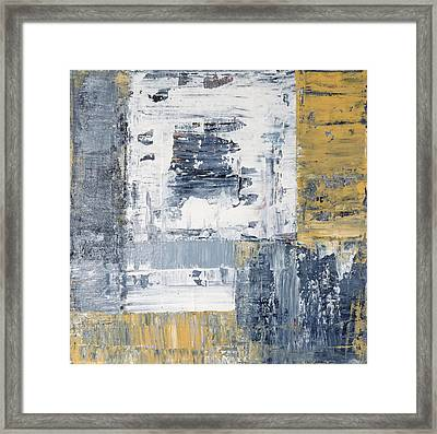 Abstract Painting No. 3 Framed Print by Julie Niemela