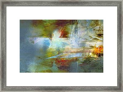 Abstract Painting - Psalms Framed Print