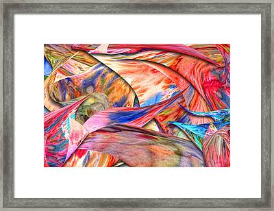 Abstract - Paper - Origami Framed Print by Mike Savad