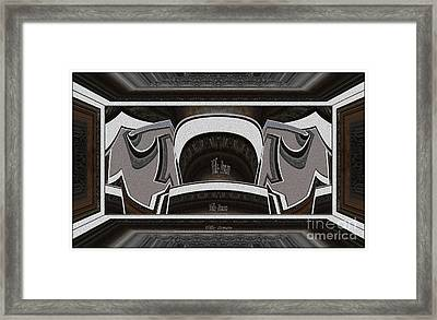 Abstract Pattern Ap01 Framed Print by Pemaro