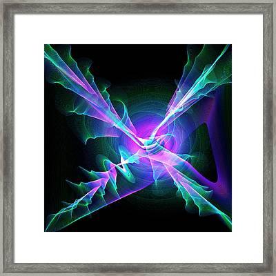 Abstract Patterns Framed Print by Mehau Kulyk