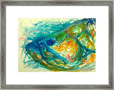 Abstract Poon  Framed Print