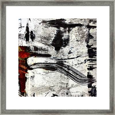 Abstract Post 3 Framed Print