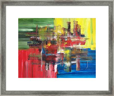 Abstract Prime Framed Print