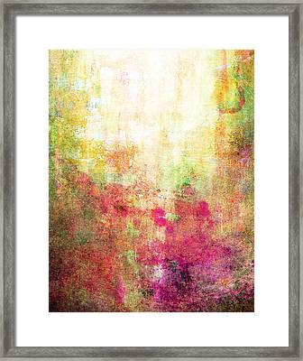 Abstract Print 14 Framed Print by Filippo B