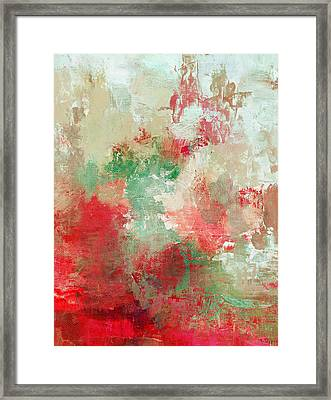 Abstract Print 18 Framed Print by Filippo B