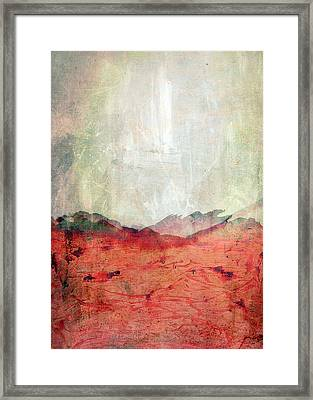 Abstract Print 26 Framed Print by Filippo B