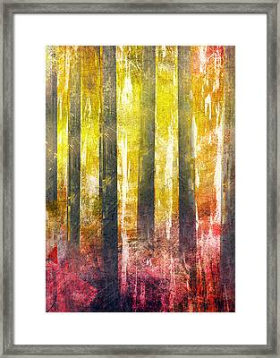 Abstract Print 29 Trees Framed Print