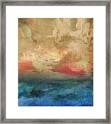 Abstract Print 3 Framed Print by Filippo B