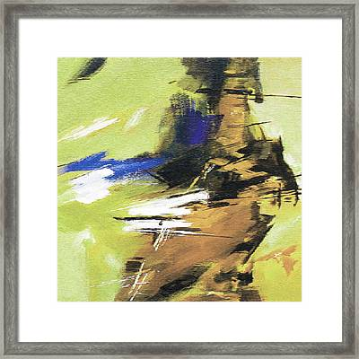 Abstract R Framed Print