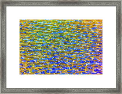 Abstract Reclections In The Memorial Framed Print