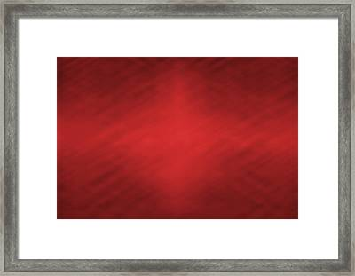 Abstract Red Motion Blur Background Framed Print by Somkiet Chanumporn
