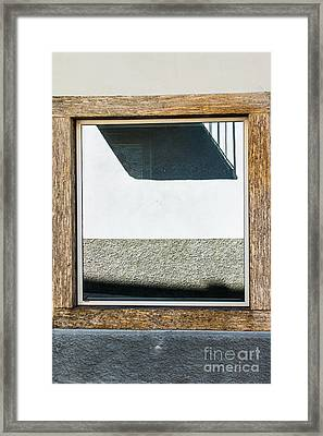 Abstract Reflection Framed Print by Silvia Ganora