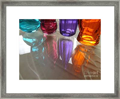 Abstract Reflections #4 Framed Print