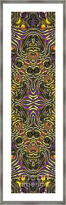 Abstract Rhythm - 31 Framed Print by Hanza Turgul