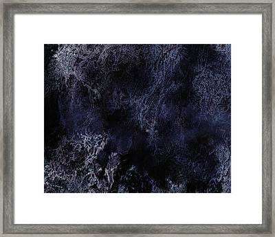 Abstract Scenery No.6 - Nightmare Framed Print by Wolfgang Schweizer