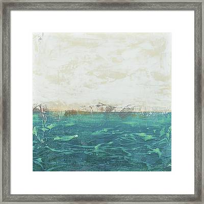 Abstract Seascape 02/14a Framed Print by Filippo B