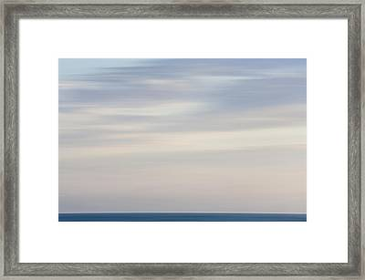 Abstract Seascape No. 01 Framed Print