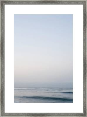 Abstract Seascape 2 Framed Print