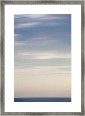 Abstract Seascape No. 03 Framed Print
