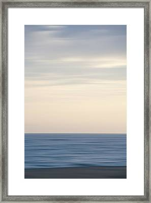 Abstract Seascape No. 04 Framed Print