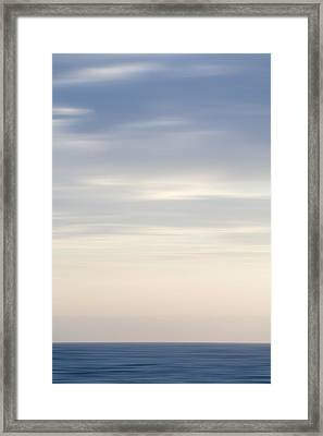 Abstract Seascape No. 05 Framed Print