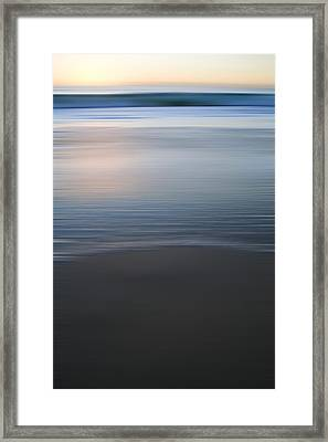 Abstract Seascape No. 06 Framed Print