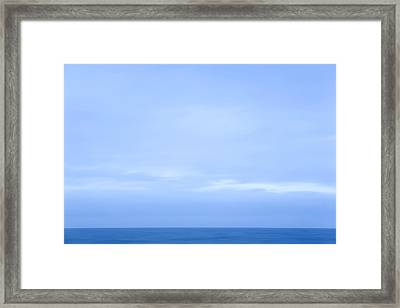 Abstract Seascape No. 07 Framed Print