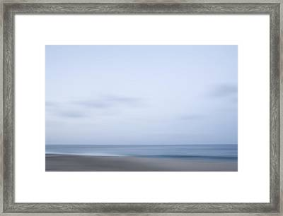 Abstract Seascape No. 08 Framed Print