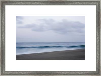Abstract Seascape No. 09 Framed Print