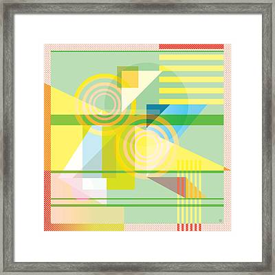 Abstract Shapes #5 Framed Print by Gary Grayson
