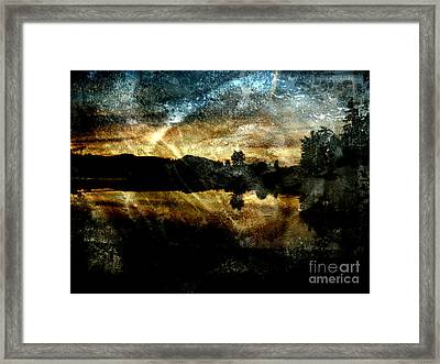 Abstract Sky 3 Framed Print by Jim Wright