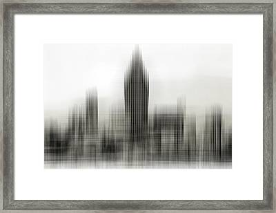 Abstract Skyline Framed Print
