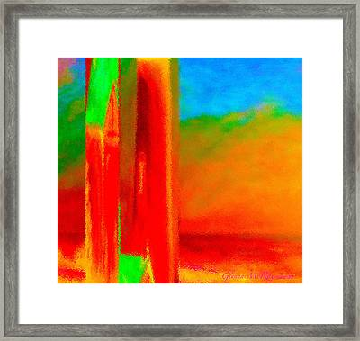 Abstract Splendor II Framed Print