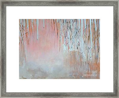Abstract Spring Framed Print