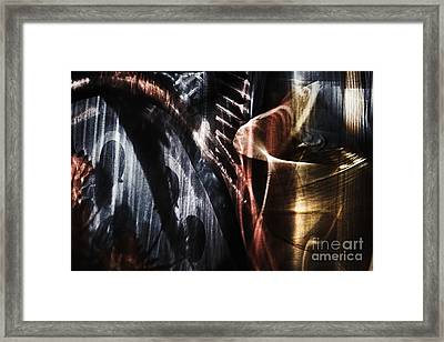 Abstract Still Life Framed Print by Elena Lir-Rachkovskaya