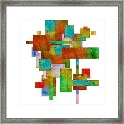 Abstract Study 21 Abstract -art Framed Print by Ann Powell