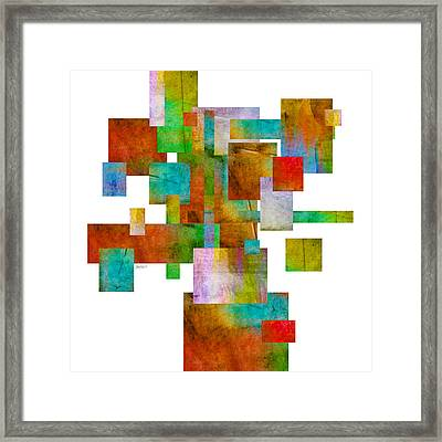 Abstract Study 22 Abstract- Art Framed Print by Ann Powell