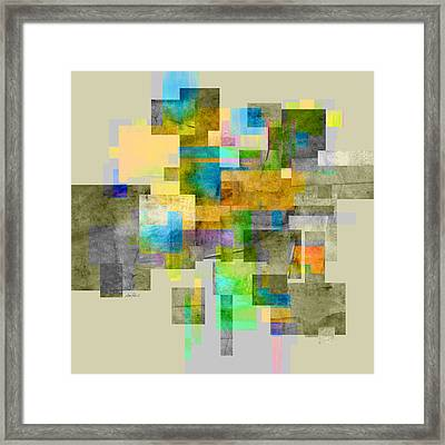 Abstract Study 26 Framed Print by Ann Powell