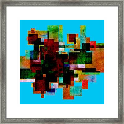 Abstract Study 30 - Abstract Art Framed Print by Ann Powell