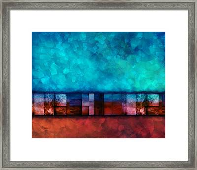 Abstract Study Seven Framed Print by Ann Powell