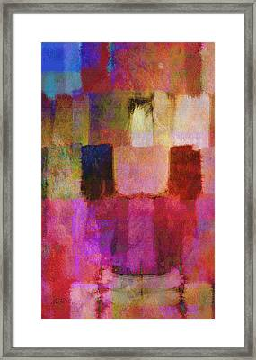 Abstract Study Two Framed Print by Ann Powell