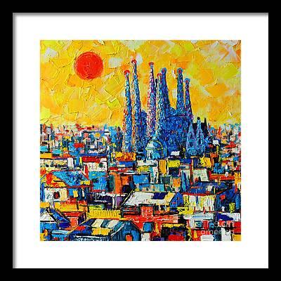Barcelona Framed Prints