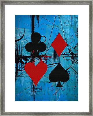 Abstract Tarot Art 012 Framed Print by Corporate Art Task Force