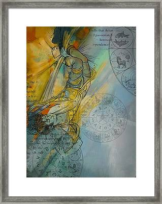 Abstract Tarot Art 015 Framed Print